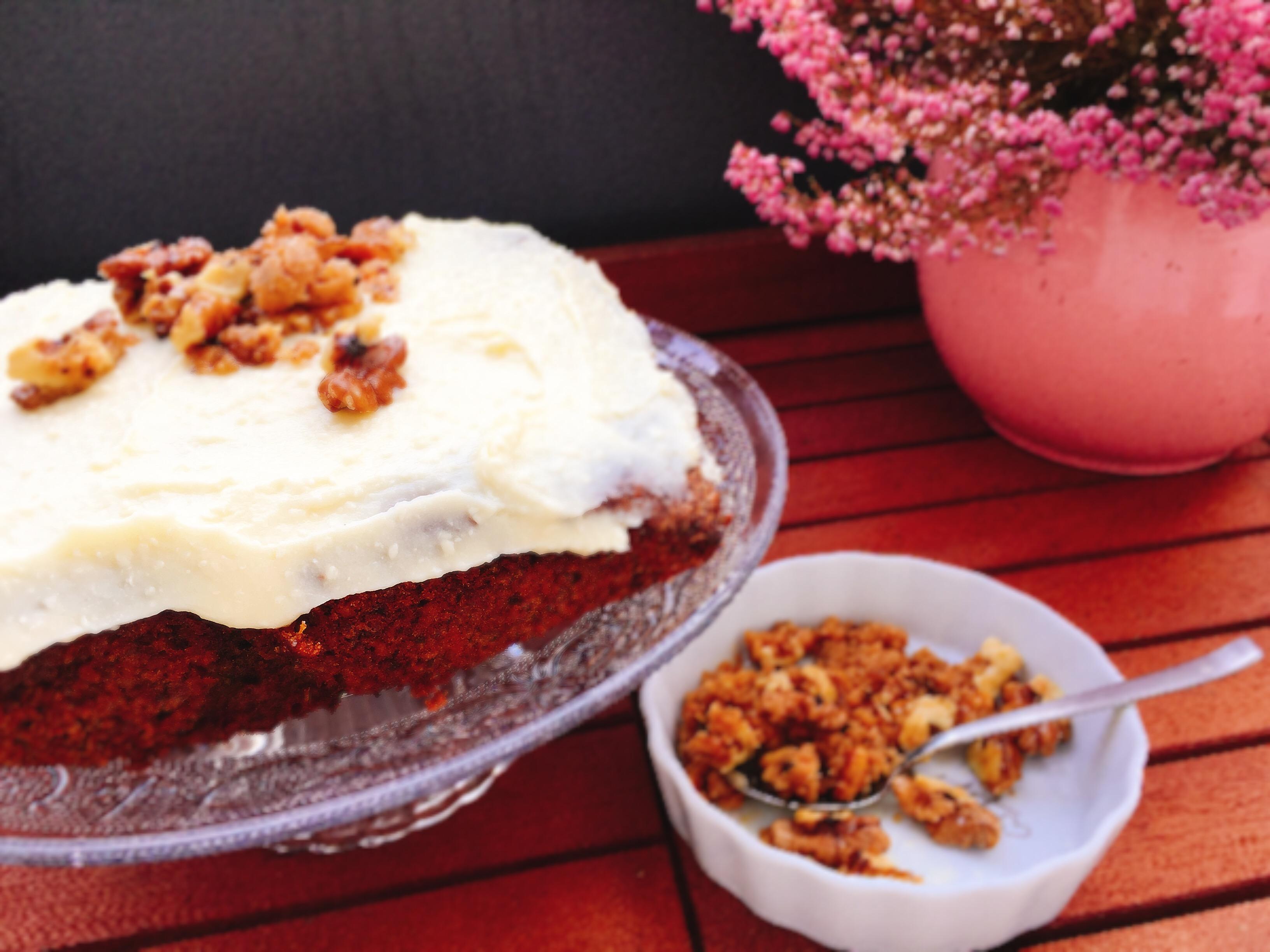 Carrotcake Rublikuchen Mohrenkuchen Oder Oder Oder Sommermensch
